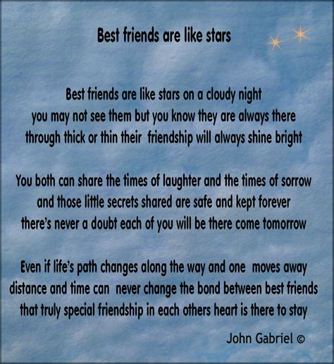 best friend poems poems by poets with images to