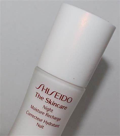 Shiseido The Skincare Moisture Recharge shiseido the skincare moisture recharge review