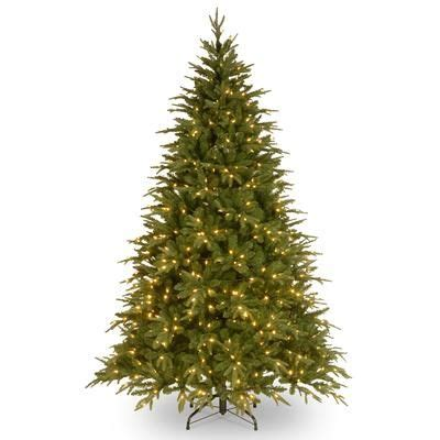 home depot evergreen co home accents 7 5 balsam evergreen tree with