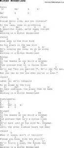 Winter wonderland music lyrics christmas carol song lyrics with chords