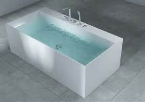 Bathtub Materials Design Freistehende Badewanne Aus Mineralguss Matt 175x90cm