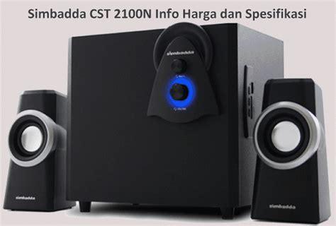 Speaker Aktif Simbadda Cst 1750n harga speaker simbadda cst 2100n