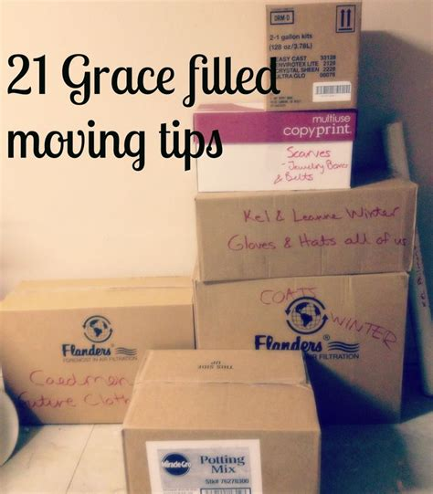 packing and moving tips grace filled moving advice moving advice moving tips