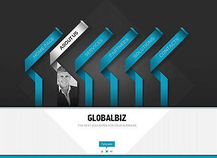 Global Business Flash Website Template Best Website Templates Dynamic Flash Website Templates Free
