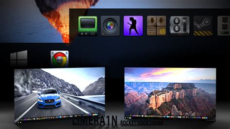 where can i download themes for windows 10 win10 theme for rocketdock by limera1n on deviantart