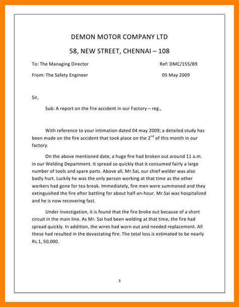 how to write a report letter sle cover letter templates