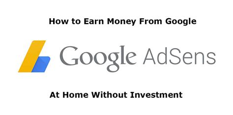 how to earn money from at home without investment