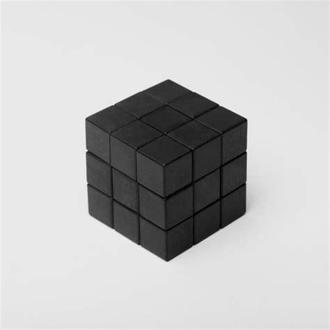 Rubik Infinity Cube Black Or White via simply aesthetic rubicks cube black and white nordic details black