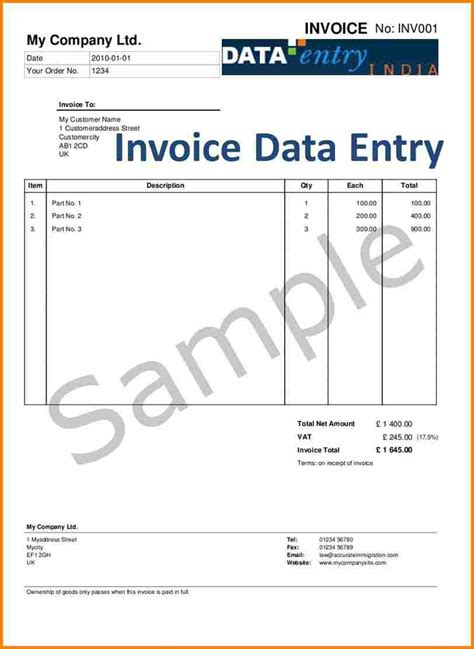 free value added tax vat invoice template excel pdf word tax invoice
