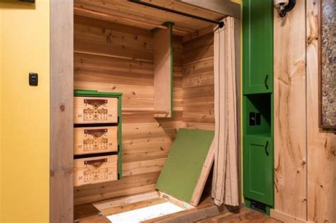 tiny house slide out brilliant design extraordinary craftsmanship in this jaw