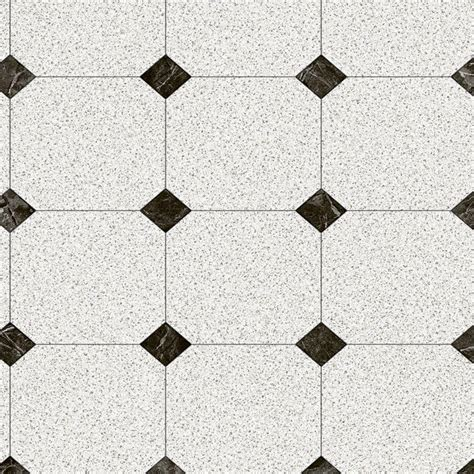Black And White Vinyl Sheet Flooring by Trafficmaster Black And White Decorative Paver 12 Ft Wide