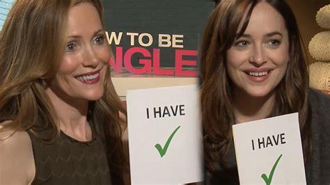 leslie mann how to be single baby scene never have i ever w quot how to be single quot cast leslie mann