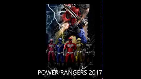 power rangers film 2017 wiki power rangers 2017 fan soundtrack youtube