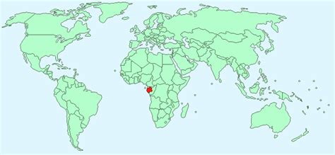 where is gabon on the world map gabon facts and figures