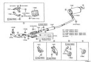 Toyota Camry Exhaust System Parts Toyota Solara Exhaust Pipe