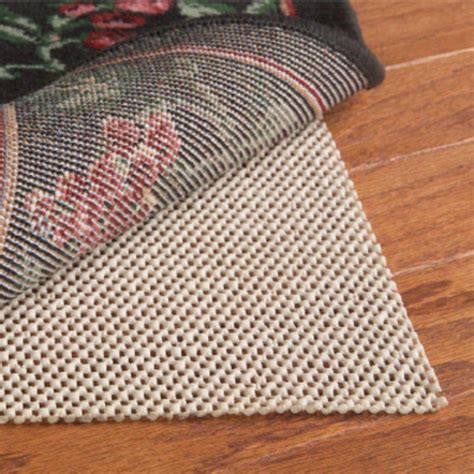 colonial mills 4 ft x 6 ft eco stay rug pad ecoslip4x6