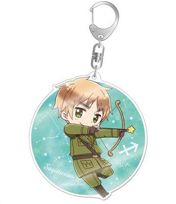 12 Sign Of Zodiac Shio Keychain Acrylic Amiami Character Hobby Shop Hetalia The World