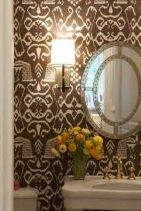 Best Wallpaper For Powder Room Desert Girls Vintage Inspiration Powder Rooms
