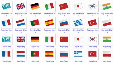 Flags Of The World Languages | image gallery language flags