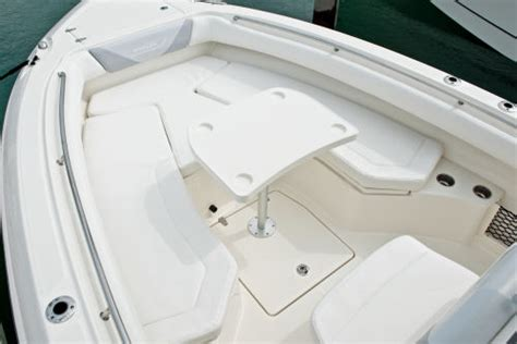 triumph boat bow cushion boston whaler 280 outrage 2014 2014 reviews performance