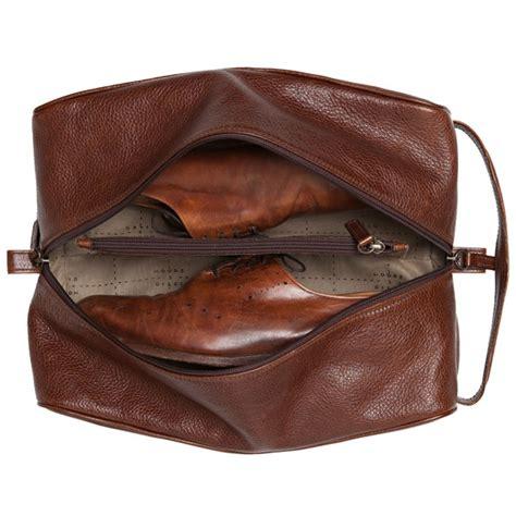 giles giles leather shoe bag
