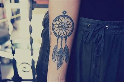 dream catcher tattoo on forearm 38 small dreamcatcher placement ideas