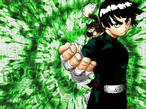 naruto rock themes naruto rock lee wallpaper 52dazhew gallery
