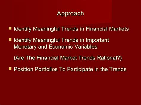 Mba In Financial Markets by Hugh Johnson Ualbany Mba Presentation