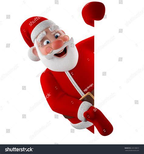 Kaos Santa Clas Is My Grand Pa cheerful 3d model santa claus happy stock illustration 220138672