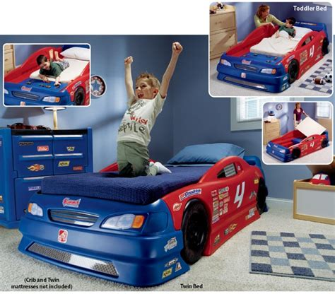 step 2 car bed step2 stock car convertible bed sale