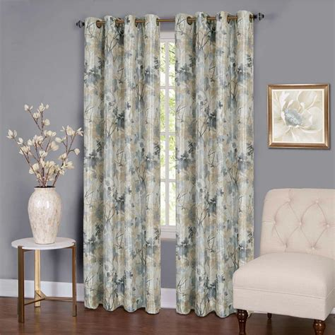 Silver Window Curtains Achim Buffalo Check Poly Cotton Window Curtain Panel 42 In W X 84 In L Bcpn84sg12 The