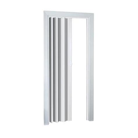 accordion doors interior home depot spectrum 32 in x 80 in ellington white accordion door