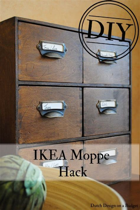 Ikea Hacks Van And Hacks On Pinterest | dutch design on a budget diy van ikea moppe naar vintage