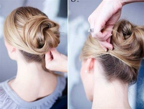 sidecut updo ideas 1000 ideas about low bun hairstyles on pinterest