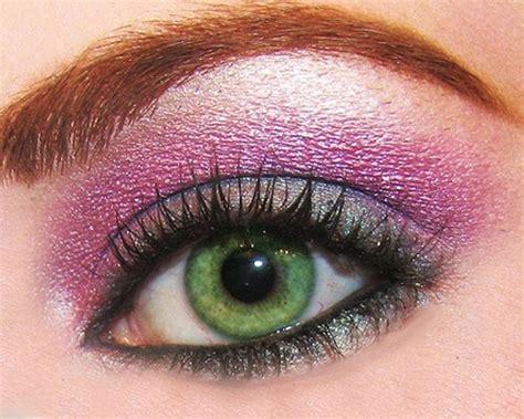 imagenes ojos verdes maquillados maquillaje ojos verdes diario para quererte