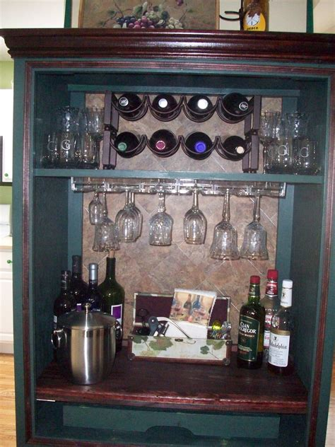 repurpose  tv armoire north fork staged  sell