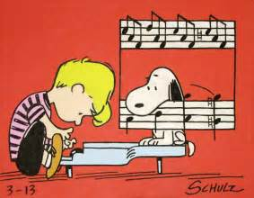 peanuts soundtrack schroeder snoopy peanuts comic painting from the 60s