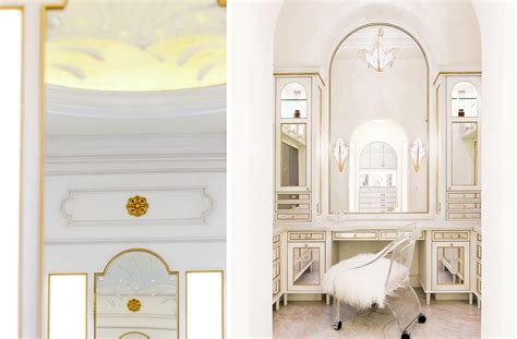 Neoclassical Interior White And Gold Neoclassical Master Bath Tara Dudley