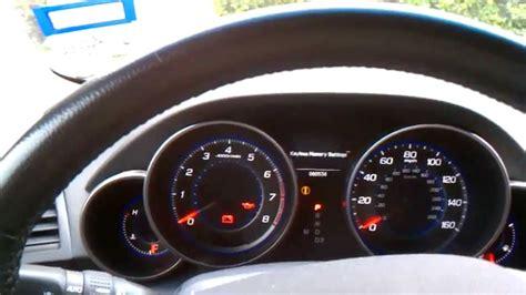 resetting battery gauge reset oil life acura mdx youtube
