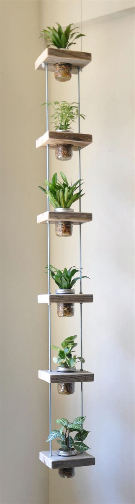 Hanging Herb Planter by 18 Brilliant And Creative Diy Herb Gardens For Indoors And