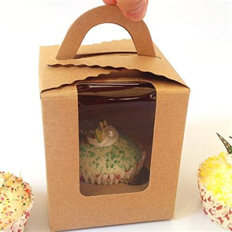 window cake boxes wholesale single cupcake boxes wholesale clear bakery pastry brown