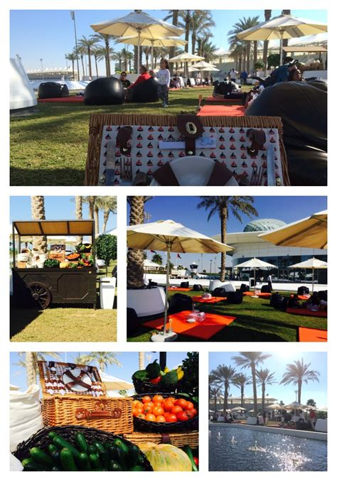 Brunch Palm Gardens by Saturday Picnic Brunch At Yas Viceroy In Abu Dhabi