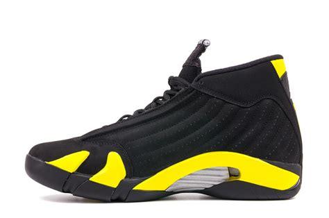 air 14 retro thunder black vibrant yellow white