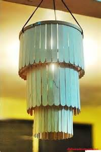 Twig Chandelier Diy Crafts With Ice Cream Sticks For Summer Holidays