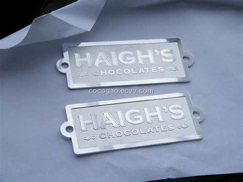 Furniture label, furniture badge, Aluminum name plate, embossed metal logo, name plate