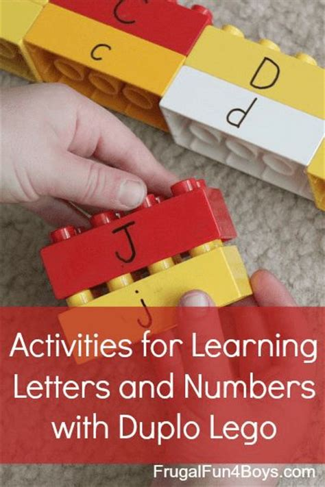 10 more ways to learn with legos small letters learning