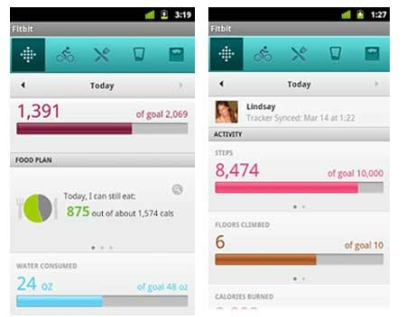 fitbit app for android fitbit for android app makes its debut mobiletor