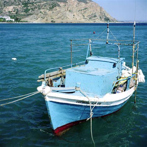 greek fishing boat plans greek fishing boat photograph by paul cowan