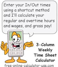 div yield calculation weekly time sheet calculator with 3 in out blocks per day
