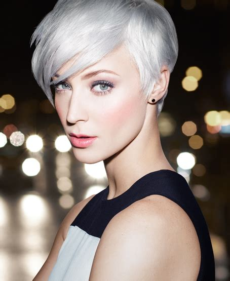 short silver blonde hair get this look platinum status go light lighter lightest